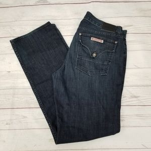 Hudson Buckley Mens 36X36 Dark Wash Tall Jeans